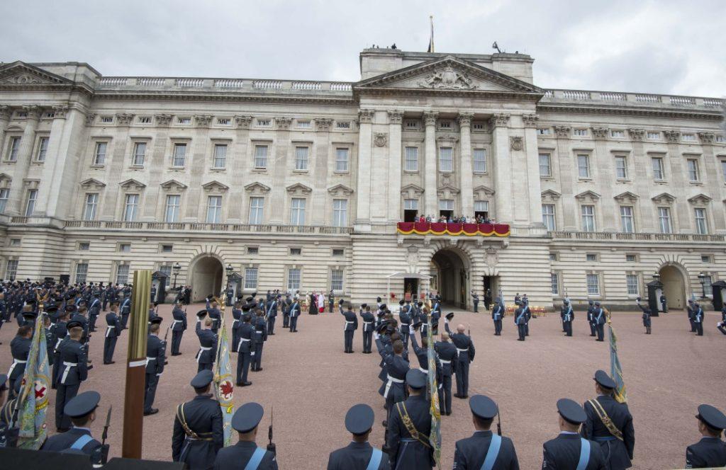 Buckingham Palace of Queen Elizabeth II
